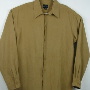 🍁Kenneth Cole Suede Feel Long Sleeve - L